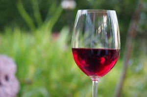 czerwone wino na wywolanie miesiaczki