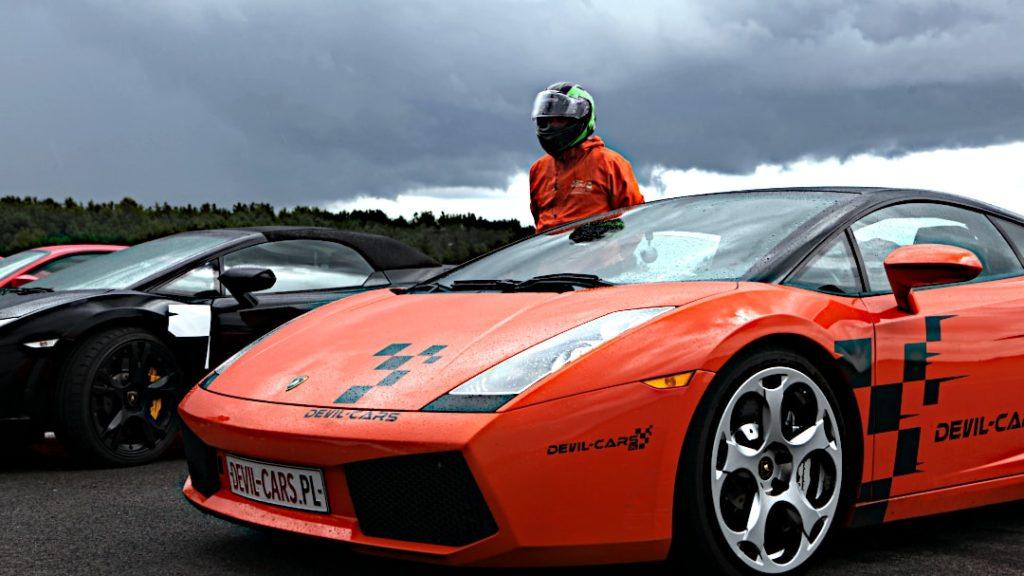 Jazda Lamborghini ucieszy tatę
