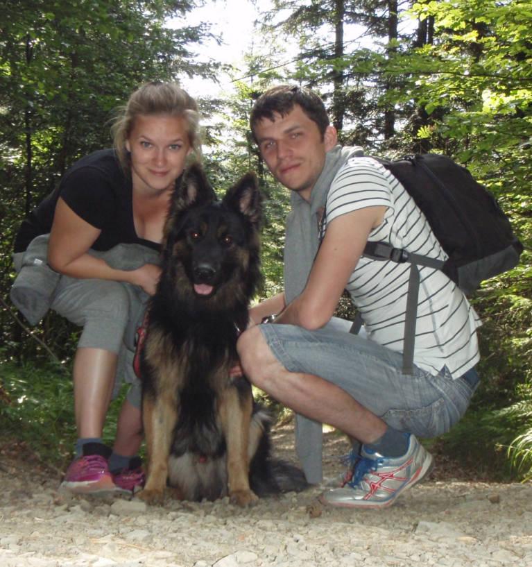 Kasia, Welwet i ja - to rodzina