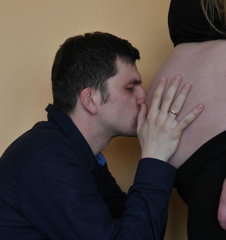 Zdjęcia w ciąży - zrób to sam
