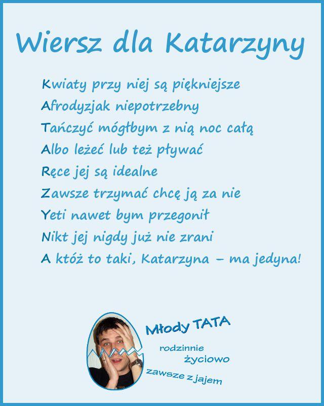 Wiersz dla Katarzyny