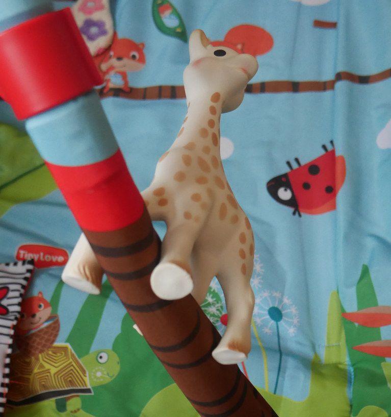 Żyrafa Sophie, która u mnie wywołuje dreszcze