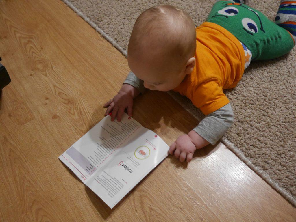 Czytamy instrukcję do fotelika Diono Radian
