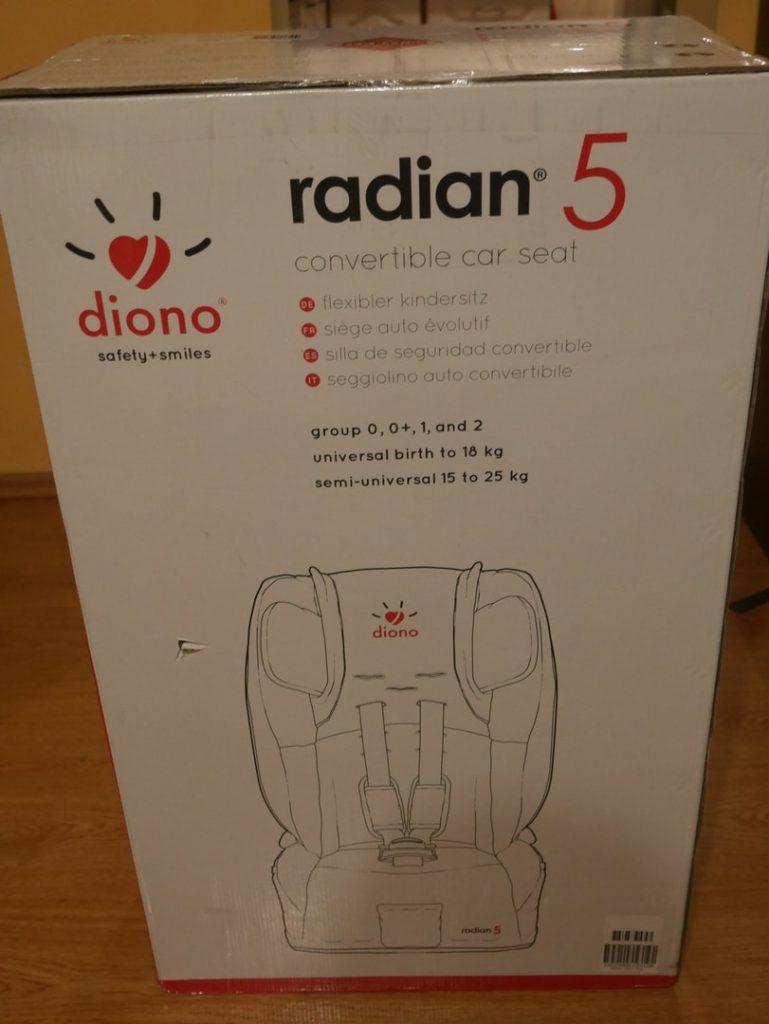 Opakowania Diono Radian 5