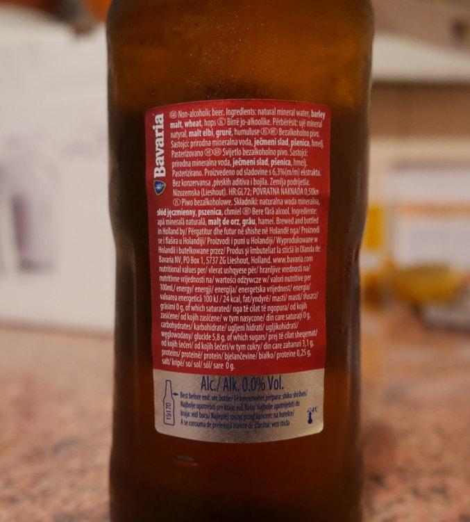Bavaria bez alkoholu, ale ze słodem jęczmiennym
