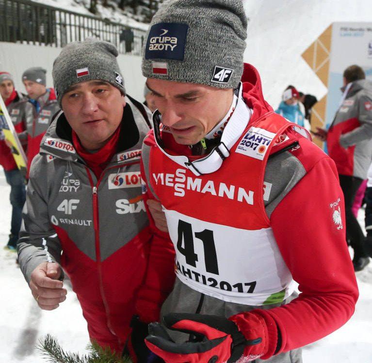 Piotr Żyła - tata na medal