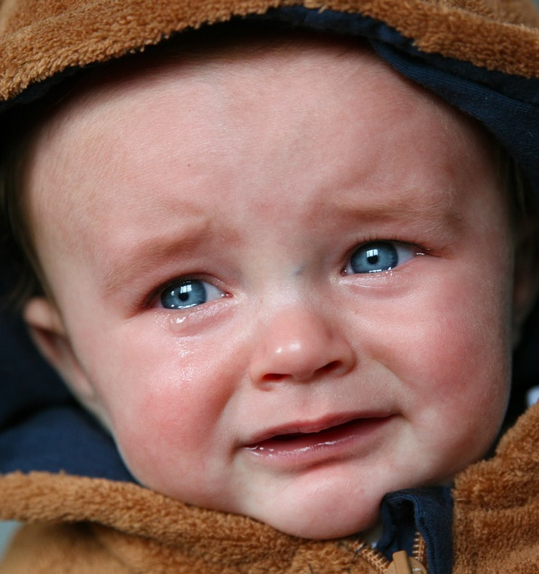 Gdy dziecko płacze, to rodzica boli serce