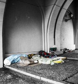 Oby w czerwcu nie było mrozów... bo możemy być bezdomni ;-)