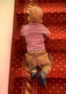 Chodzenie po schodach