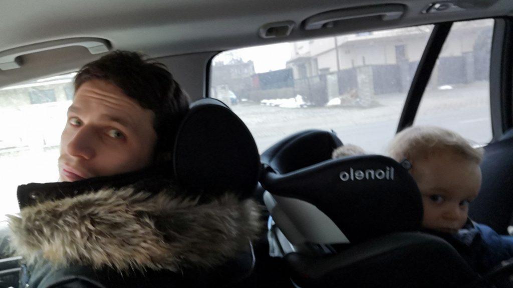 Testujemy jazdę na dwa foteliki. Z mamą z przodu!