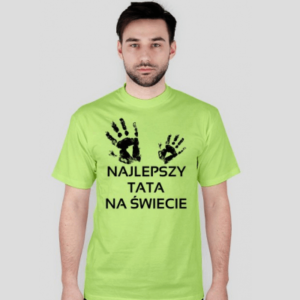 koszulka najlepszy tata na świecie