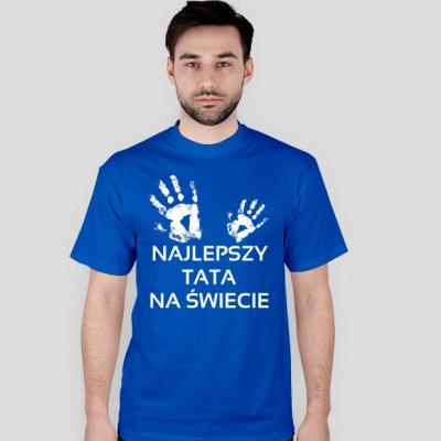 t-shirt najlepszy tata na swiecie