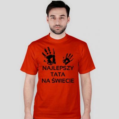 Koszulka: Najlepszy tata na świecie