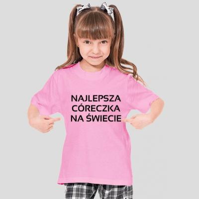 koszulka najlepsza córeczka na świecie