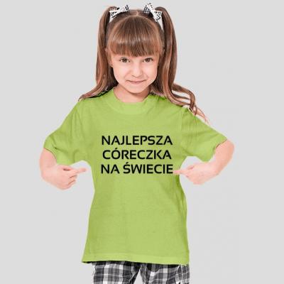 koszulka najlepsza coreczka na swiecie