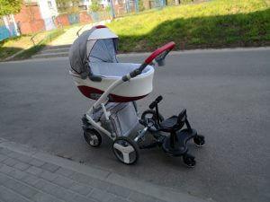 Wózek z dostawką Mr Buggy
