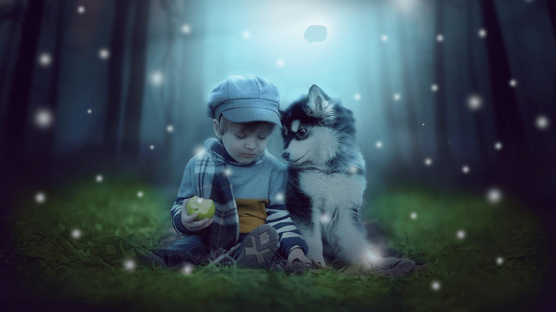 Dlatego wiem, że przy dziecku warto mieć psa
