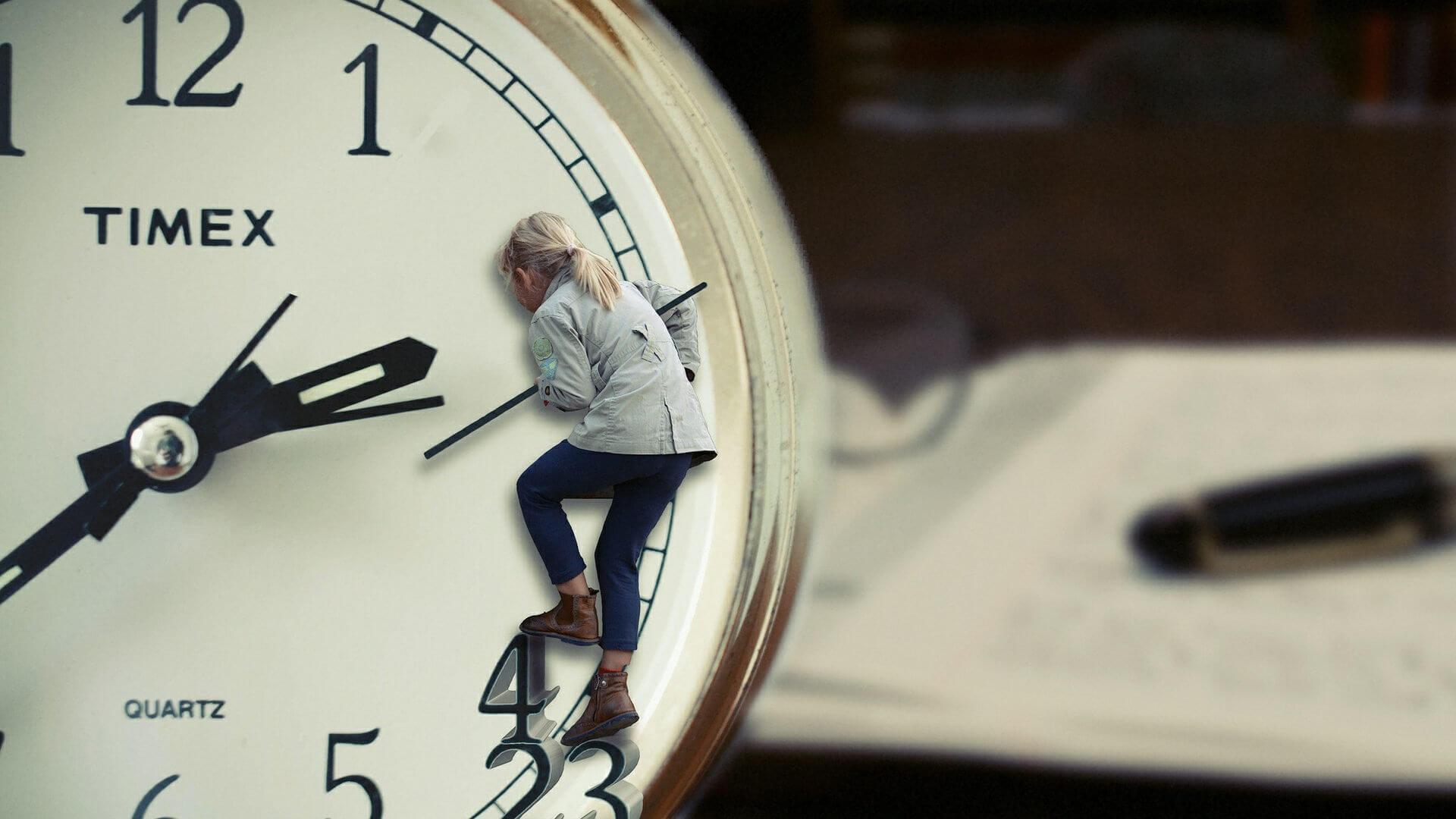 A co Ty zrobiłbyś z dodatkową godziną w ciągu dnia?
